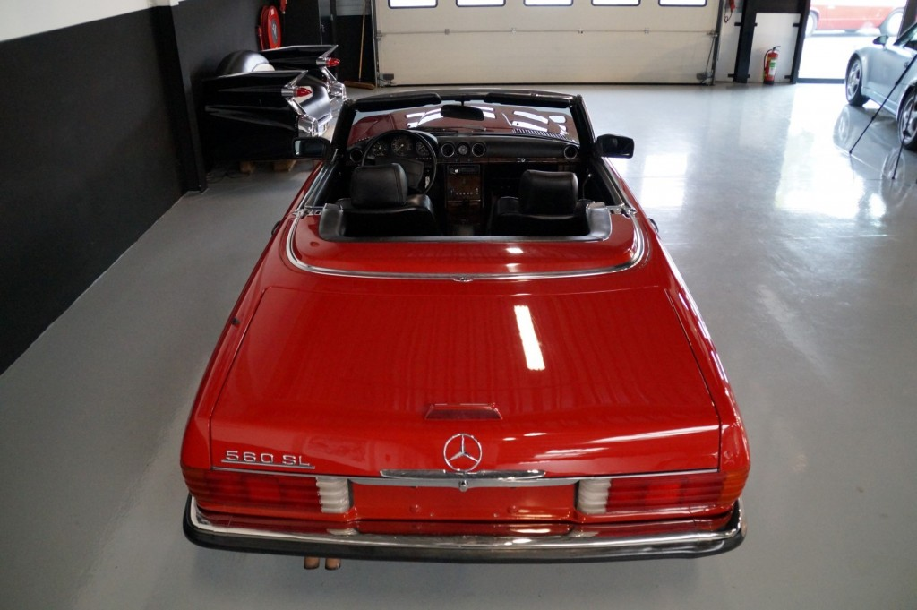 Buy this MERCEDES-BENZ 560 1988  at Legendary Classics (22)