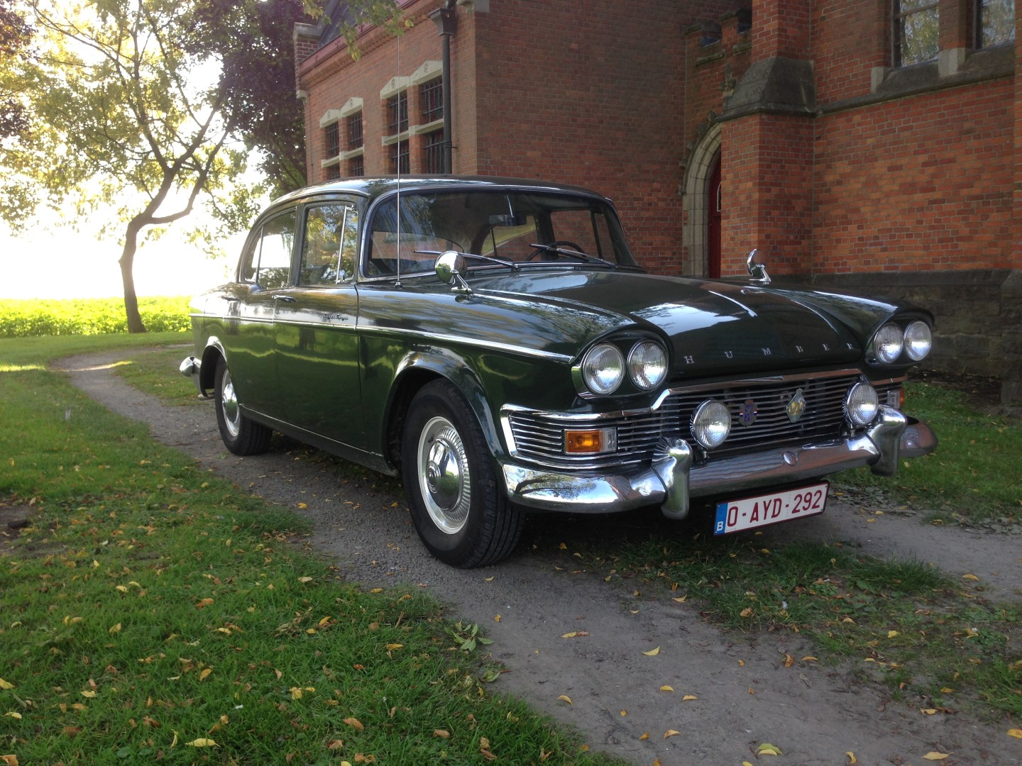 Buy this Humber Super snipe mark IV   at Legendary Classics