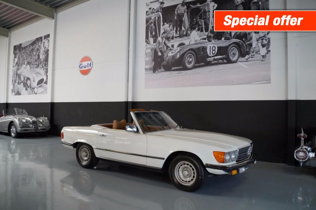 Buy this MERCEDES-BENZ SL-KLASSE 1977  at Legendary Classics (1)